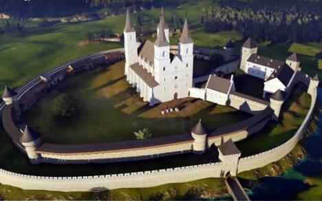 Reconstituire 3D: Cum arăta Cetatea Oradea în prima parte a secolului XV (VIDEO)