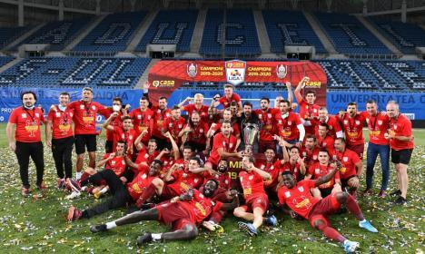 CFR Cluj şi-a adjudecat finala Campionatului Naţional şi este din nou campioana României la fotbal (FOTO / VIDEO)