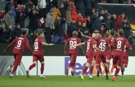 Performanţă: CFR Cluj s-a calificat în primăvara europeană. A învins cu 2-0 echipa scoţiană Celtic Glasgow