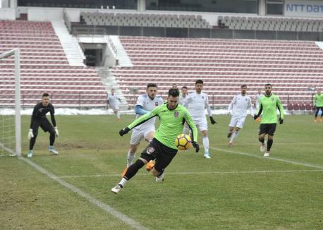 Echipa Luceafărul, umilită de CFR Cluj într-un meci amical