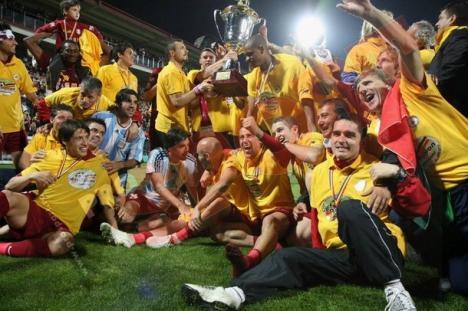 CFR Cluj este noua campioană a României