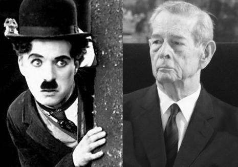 Charlie Chaplin şi Regele Mihai