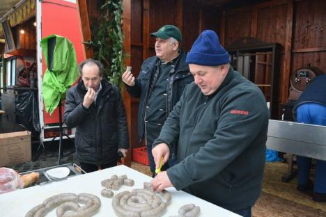 Bucătarul Horia Vârlan, invitat special la Cina Porcului în Cetatea Oradea (FOTO)