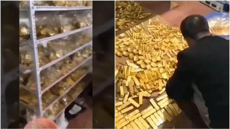 Coruptul corupţilor: Un demnitar chinez a strâns din şpăgi 34 miliarde de euro şi 13 tone de aur în subsolul casei sale (VIDEO)