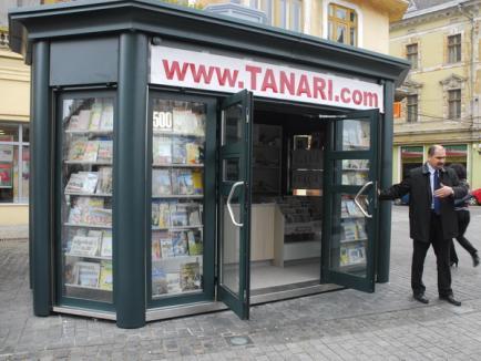 Chioşcuri de ziare scumpe cât o garsonieră (FOTO)