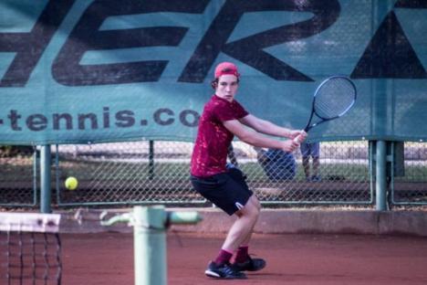Orădeanul Christian Teszari a cucerit primul trofeu ITF din carieră!