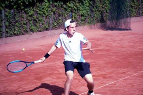 Fiul magnatului Teszari a devenit campion la Naţionalele U16 de tenis