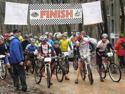 """Maraton de ciclism montan la """"crater"""""""