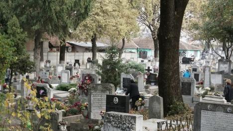Orădenii s-au recules la mormintele celor dragi (FOTO)