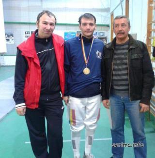 Spadasinul orădean Lucian Ciovică s-a clasat pe locul V la concursul internațional de la Linz