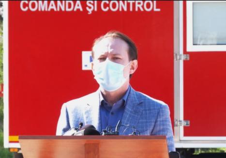 Premierul Florin Cîţu: Mai sunt doar 6 paturi libere de Terapie Intensivă - Covid în toată ţara (VIDEO)