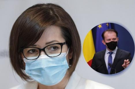 """Cîțu despre acuza Ioanei Mihăilă că nu a asigurat bani pentru plata vaccinării: """"Nu ştiu de ce lumea încearcă să-şi arate incompetenţa pe ultima sută de metri"""""""