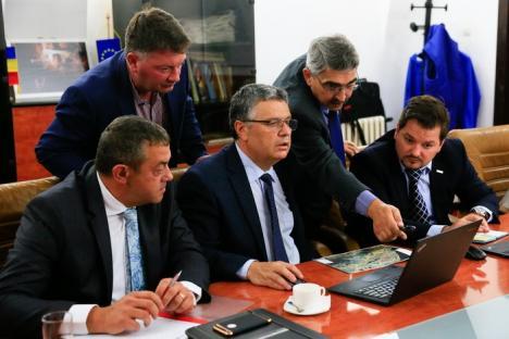 Consiliul Judeţean vrea să introducă gazul în parcurile industriale şi în câteva localităţi din Bihor