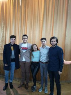 Elevii bihoreni au un nou preşedinte: Horea Dobai, de la Colegiul Mihai Eminescu