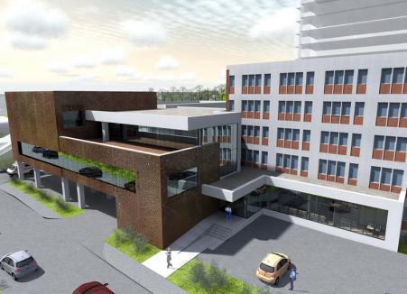 Lucrările de extindere a Unităţii de Primiri Urgenţe de la Spitalul Județean Oradea vor începe cel târziu anul viitor
