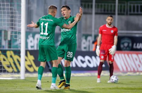 Claudiu Keşeru a înscris din nou şi a cucerit încă un titlu cu Ludogoreţ Razgrad