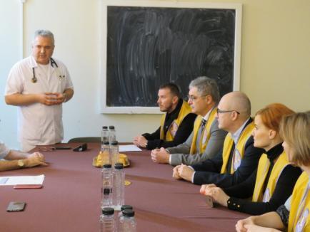 Clubul Lions a donat Spitalului Municipal încă 10 camere implantabile, necesare tratamentului cu citostatice