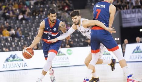 Înfrângerela Cluj, în FIBA Europe Cup, pentru CSM CSU Oradea