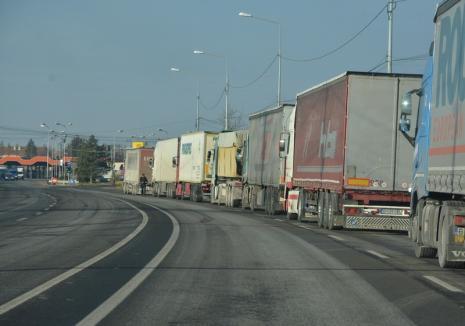 Atenţie, şoferi ! Trafic restricţionat în Ungaria, pentru maşinile de mare tonaj