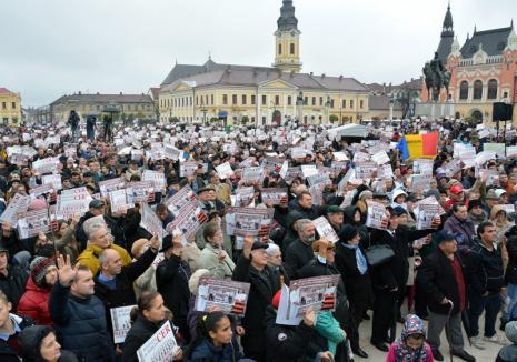 Coaliţia pentru Familie #insistă: Pregăteşte un nou miting în Piaţa Unirii din Oradea