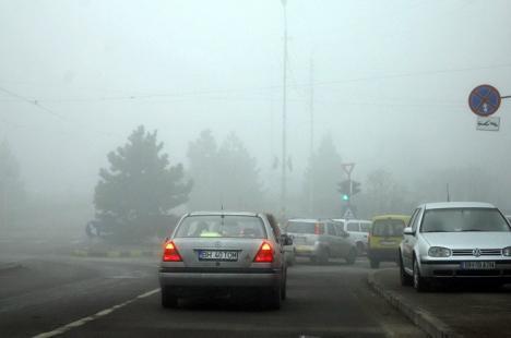 Cod galben de ceaţă, în Bihor