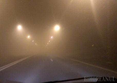 Cod galben de ceaţă în Bihor. Vezi localităţile afectate!
