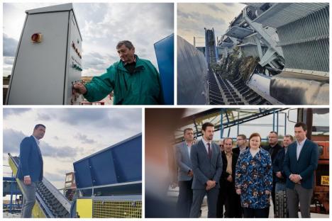Ministrul Mediului, vizită în Bihor la stăvilarul Tulca: 'Primul succes în gestionarea transfrontalieră a deşeurilor fluviale' (FOTO)