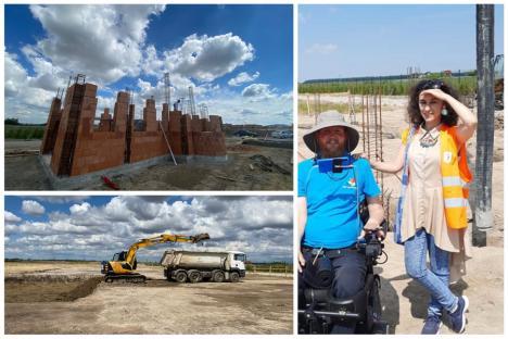 Se lucrează la ridicarea Centrului pentru copii cu dizabilități al Fundației Mihai Neșu. Cum poţi ajuta (FOTO / VIDEO)