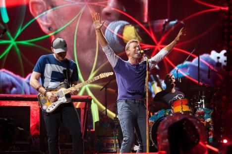 Coldplay nu mai merge în turnee, de dragul planetei