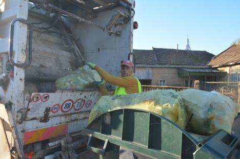 """Sălacea-i """"fruncea""""! Locuitorii comunei Sălacea sunt singurii din Bihor care-şi aruncă deşeurile în 5 recipiente diferite (FOTO/VIDEO)"""