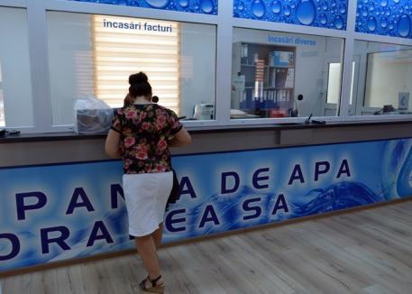 De Ziua Gospodarului, va fi deschisă doar agenţia din Oradea a Companiei de Apă