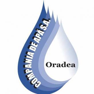 Compania de Apă Oradea, programul săptămânal de citire a contoarelor 12-16 aprilie