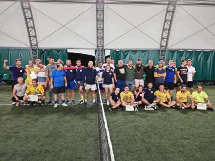 Tengo Salonta și Futnet Oradea au dominat Campionatului Național de fotbal-tenis de la Dumbrăvița (FOTO)