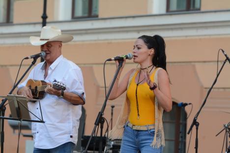 O nouă trupă rock orădeană a debutat energic la concertul Give Peace a Chance (FOTO / VIDEO)