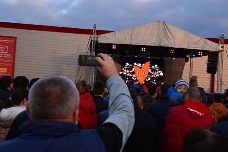 Inevitabil va fi bine! La aniversarea ERA Park, Andra a cântat ce-au cerut orădenii (FOTO/VIDEO)
