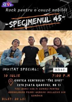 Concert pentru grădina tuturor: Două trupe rock vor cânta în curtea centrului de tineret din Oradea