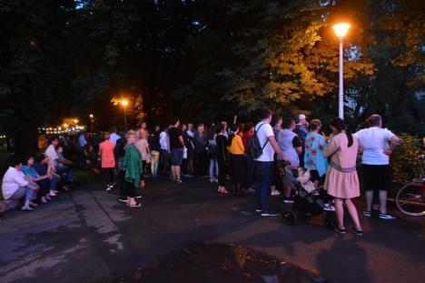 Un vis frumos: Solstiţiul de vară a fost sărbătorit pe malul Crişului Repede cu un concert al Filarmonicii, într-o atmosferă fermecătoare (FOTO / VIDEO)