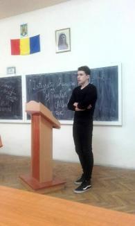 Discursuri publice în limba engleză, la Liceul Iuliu Maniu (FOTO)