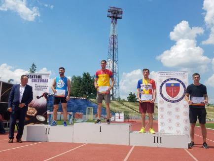 Pompierii militari bihoreni, pe podiumul Campionatului de Atletism şi Cros al MAI