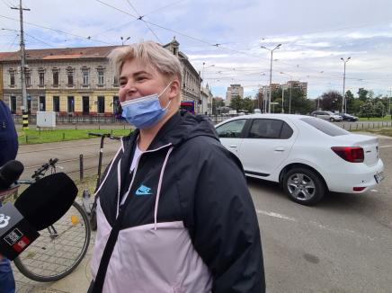 Concurs între mașină, autobuz, tramvai și bicicletă în Oradea. Cel mai rapid e mersul pe două roți (FOTO / VIDEO)