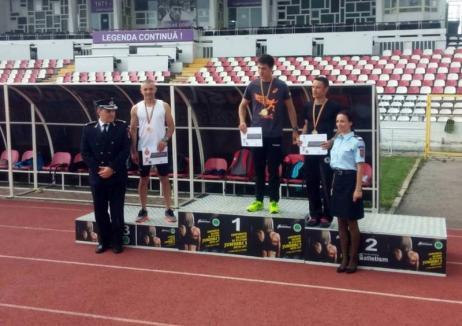 Pompierii bihoreni, cinci medalii la campionatul de atletism şi cros dedicat lor
