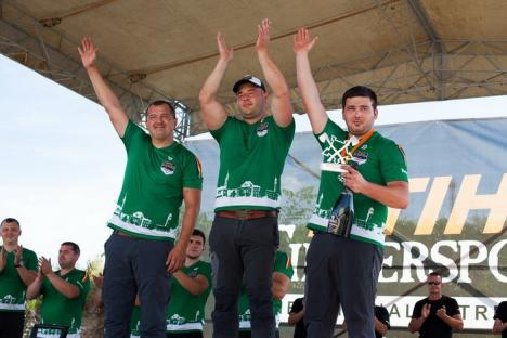 Bihoreanul Dan Petrescu rămâne cel mai puternic tăietor de lemne din ţară