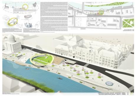 Proiect-surpriză: Piaţa Independenţei din Oradea va fi amenajată ca o... pădure cu ţepi. Vezi dacă îţi place! (FOTO)