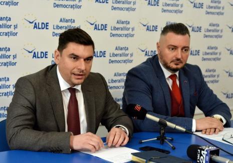 Just bussines: Noul preşedinte al ALDE Bihor, Ciprian Blejan, spune că partidul nu are 'nimic personal' cu Traian Bodea