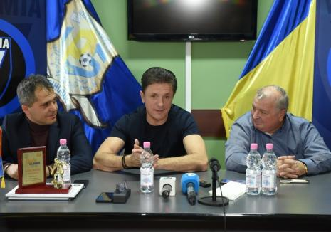 Gică Popescu a încheiat la Oradea un protocol între Academia Gheorghe Hagi şi LPS Bihorul
