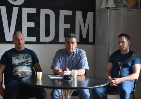 """Mang, Pasztor şi Bodea, provocaţi de Oradea Civică să semneze pentru iniţiativa """"Fără penali în funcţii publice"""""""