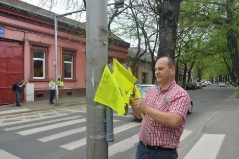 UDMR cere treceri de pietoni denivelate în faţa tuturor instituţiilor şcolare din Oradea (FOTO)
