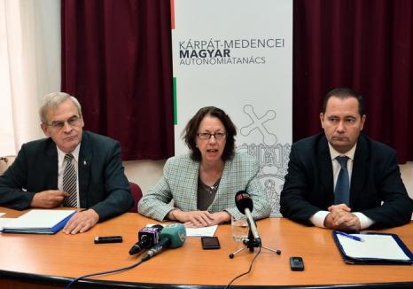 Tőkés, la finalul Conferinţei Consiliului Autonomiei Maghiare, care s-a ținut fără UDMR: Ungurii vor autonomie, nu independență