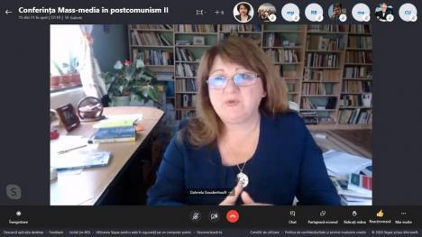 Deontologia jurnalistică, dezbătută de profesori, cercetători şi ziarişti, la invitaţia Universităţii din Oradea