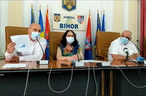 Situaţie tot mai gravă în Bihor, cu 719 cazuri active de Covid-19. Dr. Carp: 'Într-o lună sistemul va fi copleşit. Este doar o legendă că mulţi sunt asimptomatici'(VIDEO)